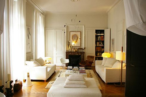 Cool french apartment designs by hand lyon best home news ll about interior design - French house interior design ...