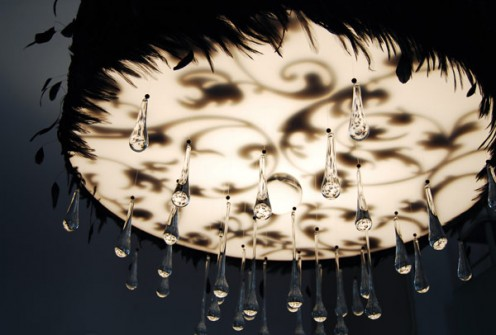 Amazing Chandeliers by ABYU Lighting - Nimbus pattern