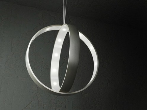 Orbital Light Lamp by Lucie Koldova
