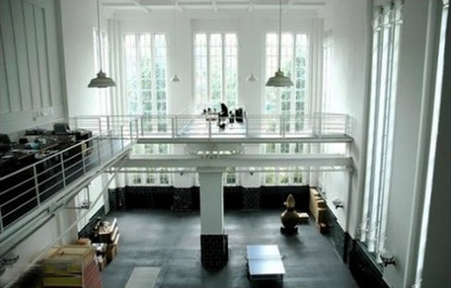 Abandoned Pumping Station Turned into a Modern House