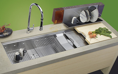 Cascade - Kitchen Sink for Small Kitchen