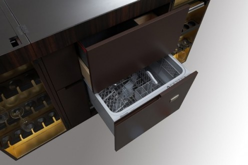 Dubai - Modern Mobile Kitchen from Unikat Interior