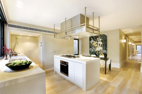 Ultra Contemporary Apartment by B.E.Architecture