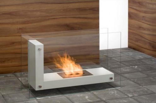 Contemporary Eco Fireplaces for Small Spaces