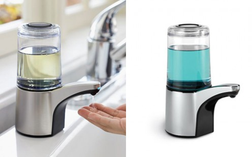 Modern Soap Dispenser with Sensor by Simplehuman