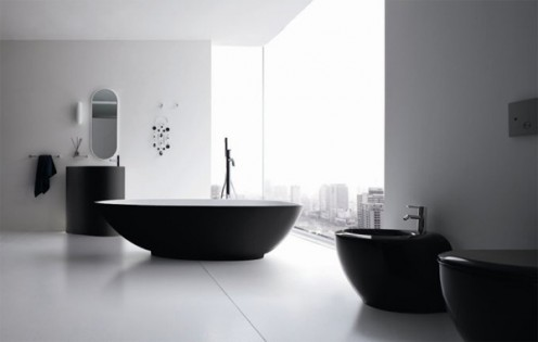 Original Egg-Shaped Bathtubs by Rexa