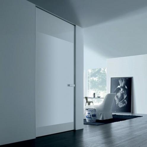 Minimalist Italian Doors from Rimadesio - Aura