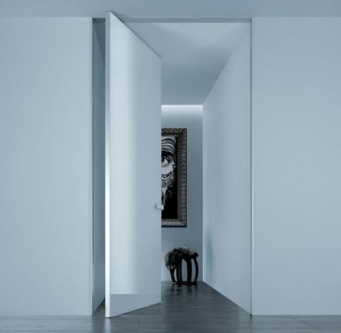Minimalist Italian Doors from Rimadesio Aura