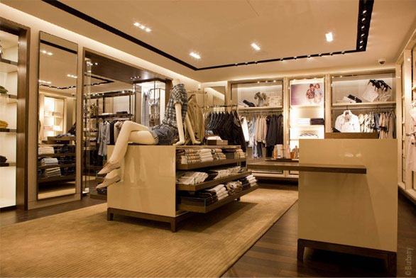 contemporary burberry boutique in paris best home news ll about interior design. Black Bedroom Furniture Sets. Home Design Ideas
