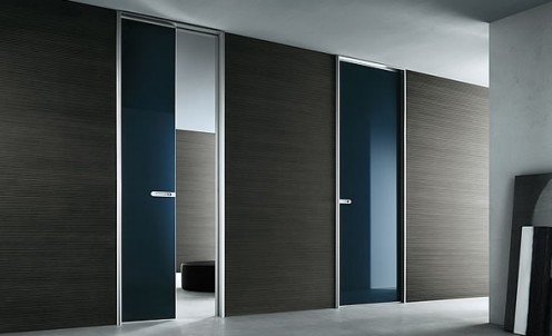 Minimalist Italian Doors from Rimadesio