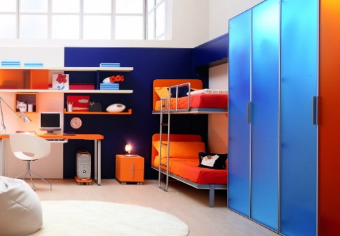 Lollipop - Double Wall Bed by Bonbon