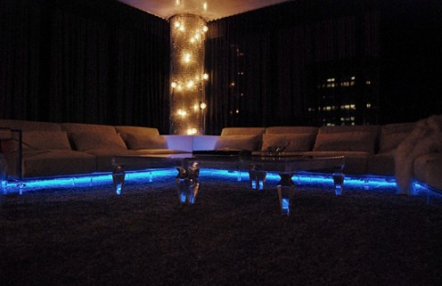 """ABYU Lighting`s Sclupture for Sean """"Diddy"""" Combs"""