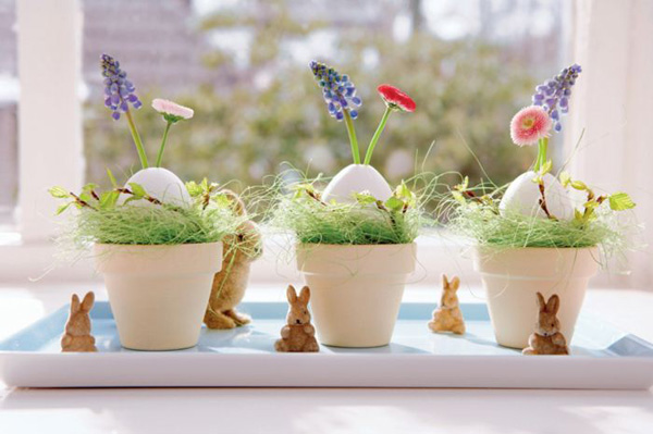 Spring decoration for easter table best home news ll Images for easter decorations