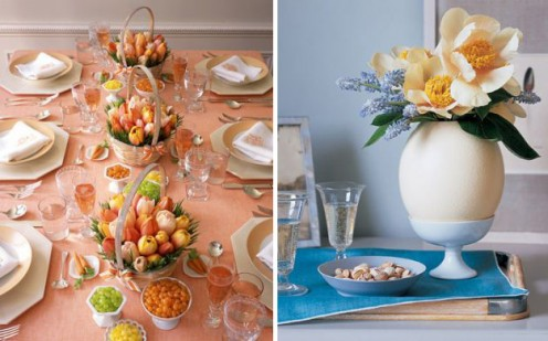 Spring Decoration for the Easter Table