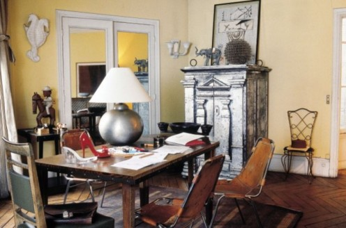 Vintage in Paris – The Apartment of Christian Louboutin
