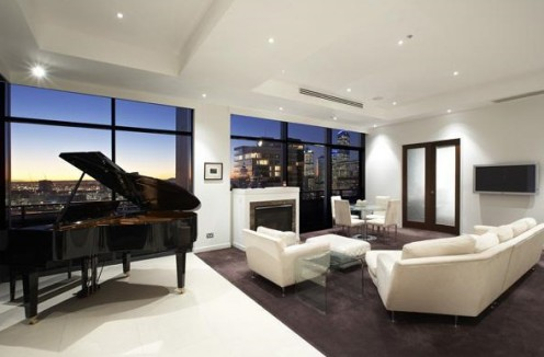 Contemporary Penthouse in Clarendon Towers