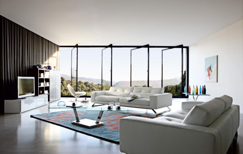 Modern Sofas - Collection 2010 from Roche Bobois