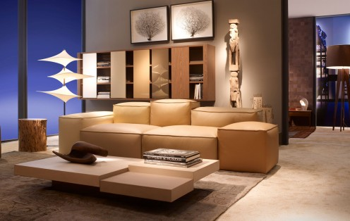 Modern Sofas - Collection 2010 from Roche Bobois - Cadence Sofa