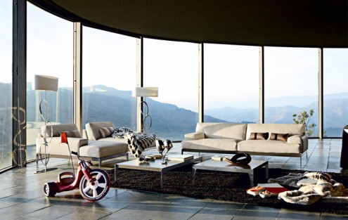 Modern Sofas - Collection 2010 from Roche Bobois - Lexique
