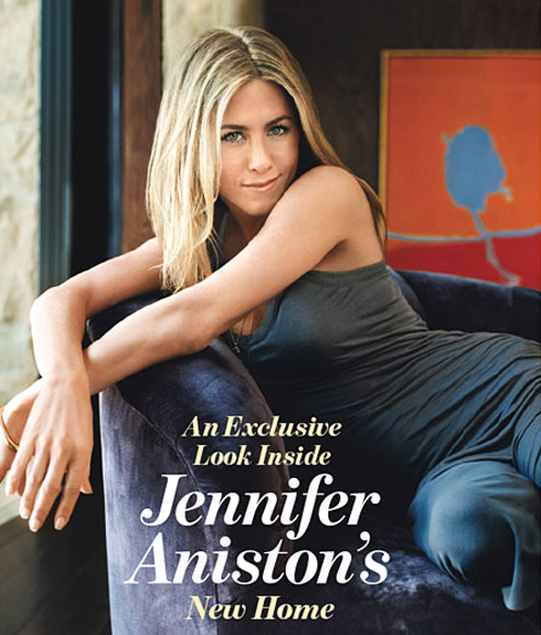 Jennifer Aniston`s Renovated Home in Beverly Hills