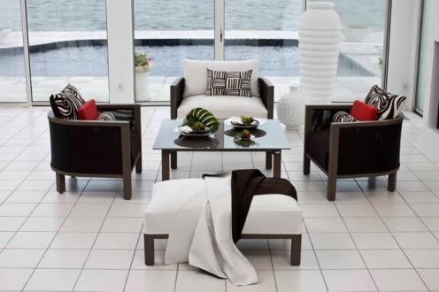 Modern outdoor furniture by jardin de ville best home for Furniture ville