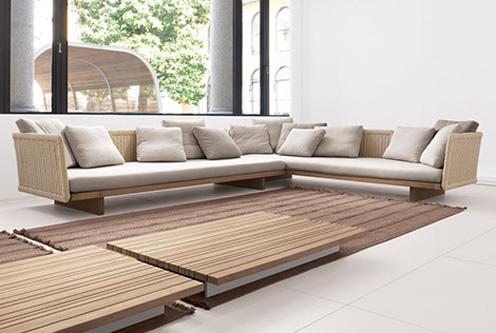 Sabi - Splendid Modular Garden Sofa from Paola Lenti