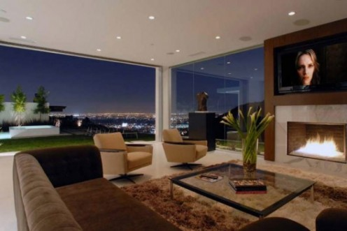 The Modern Home of Matthew Perry in Los Angeles