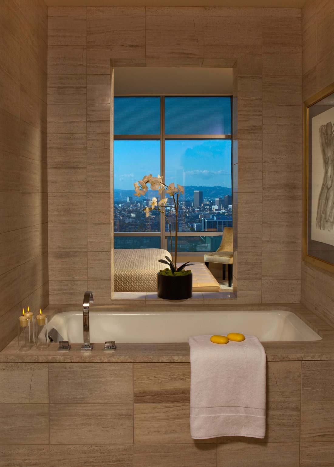 Luxury Penthouse at The Ritz-Carlton Residences in Los Angeles ...