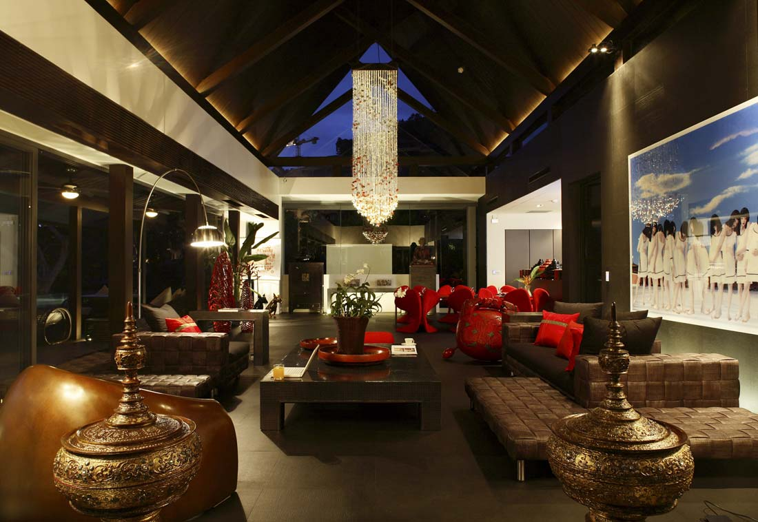 Ultra luxurious villa on phuket by naga concepts best for Thailand home decor