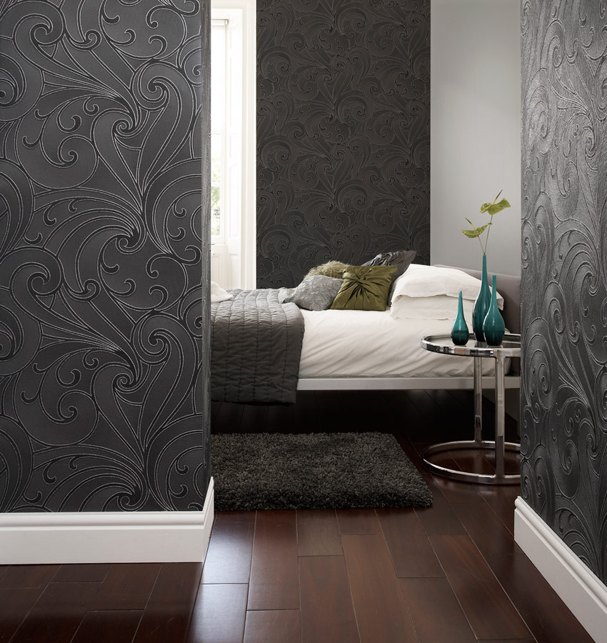 Ulterior modern wallpaper collection from graham brown for Modern wallpaper designs
