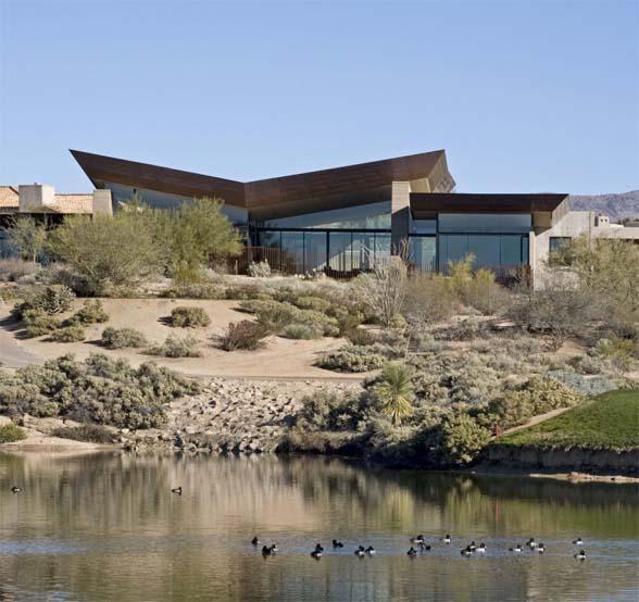 Redding residence at desert mountain by kendle design for 13th floor scottsdale az