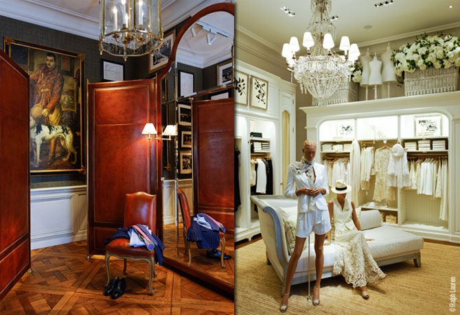The Store Of Ralph Lauren In Paris Best Home News Ll About Interior Design Architecture