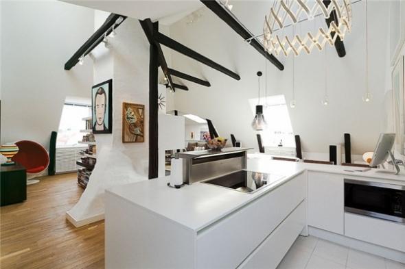 Ostermalm u2013 modern scandinavian duplex best home news Аll about